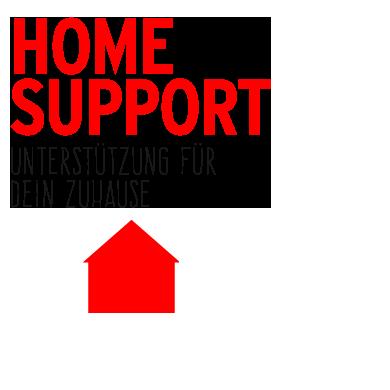 Home Support - Unterstützung für dein Zuhause