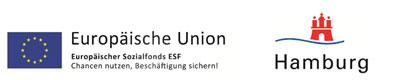 Home Support Förderer ESF und Stadt Hamburg